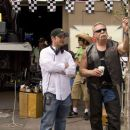 (L-R) Walt Becker and Paul Teutul Sr. in Wild Hogs. Photo Credit: Lorey Sebastian. © Touchstone Pictures. All Rights Reserved