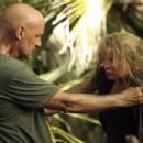 Emilie de Ravin as Claire and Terry O´Quinn as Fake John Locke on Lost (Ep.6x08 - Recon)
