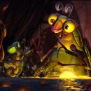 (Left to right) Lucas Nickle (voiced by ZACH TYLER EISEN), Fly (voiced by MARK DeCARLO), Beetle (voiced by ROB PAULSEN) and Glow Worm (voiced by S. SCOTT BULLOCK) in Warner Bros. Pictures' and Legendary Pictures' animated family adventure &#82