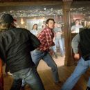 JOHNNY KNOXVILLE as Luke Duke fights it out in Warner Bros. Pictures' and Village Roadshow Pictures' action comedy 'The Dukes of Hazzard,' also starring Seann William Scott and Jessica Simpson and distributed by Warner Bros. Pictures.