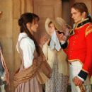 Rosamund Pike, Keira Knightley, Jena Malone, Rupert Friend and Carey Mulligan in the drama movie