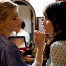 "Her father's new fiancée, Rachel (Elizabeth Banks, left), is doing her best to get along with Anna (Emily Browning, right) in the haunting suspense thriller ""The Uninvited."" Photo Credit: Kimberley French. © 2008 DreamWorks LLC and Cold"