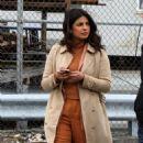 Priyanka Chopra on the 'Quantico' set in Red Hook NYC - 454 x 820