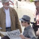 (Right) Josh Hartnett and (Left) Director Brian De Palma on the set of The Black Dahlia - 2006