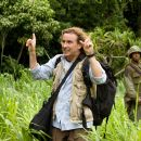 """Damien (Steve Coogan, left), a frantic movie director is shooting an ill-fated epic war movie with Oscar®-winning actor Kirk Lazarus (Robert Downey Jr., right) in the action comedy """"Tropic Thunder."""" Credit: Merie Weismiller Wallace. ©2008 Drea"""
