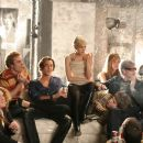 Jimmy Fallon (Chuck Wein), Jack Huston (Gerard Malanga), Sienna Miller (Edie Sedgwick), Tara Summers (Brigid Berlin), Guy Pearce (Andy Warhol) and Armin Amiri (Ondine) star in George Hickenlooper's Factory Girl. Photo by: Patti Perret. Courtesy of The - 454 x 303
