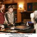 (Left to right) Zena Grey, Spencer Breslin and The Shaggy Dog. Photo Credit: Joseph Lederer © 2006 Disney Enterprises, Inc. All rights reserved.' - 454 x 336
