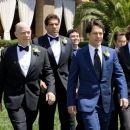 (Left to right) The Klaven/Rice wedding party consists of the father of the groom, Oswald Klaven (J.K. Simmons), Lou Ferrigno (as himself), Lonnie (Joe Lo Truglio), the groom, Peter Klaven (Paul Rudd), Doug (Thomas Lennon) and the groom's brother, R