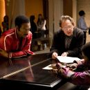 Eddie Murphy and director Bill Condon on the set of DreamWorks Pictures' and Paramount Pictures' Dreamgirls - 2006