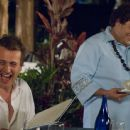 Jason Segel and Jonah Hill on the set of Forgetting Sarah Marshall.