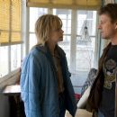 CHARLIZE THERON as Josey Aimes and SEAN BEAN as Kyle in Warner Bros. Pictures' drama North Country.
