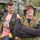 """Cody (Danny McBride, left), a trigger-happy explosions expert and John """"Four Leaf"""" Tayback (Nick Nolte, right), a Vietnam vet whose alleged experiences are the basis for an epic war film, wind up in a real-life battle in the action comedy &#82"""