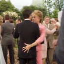Mark Ruffalo (back to camera) stars as Jeff and Shirley MacLaine stars as Katharine in Warner Bros. Pictures' and Village Roadshow Pictures' romantic comedy 'Rumor Has It...,' also starring Jennifer Aniston and Kevin Costner. Photo by