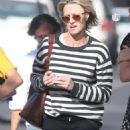 Robin Wright – Walk with her friends in West Hollywood - 454 x 1077