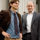 Jack (Ashton Kutcher) with best friend Hater (Rob Corddry)in comedy romance 'What Happens in Vegas.'