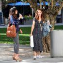 Minka Kelly – Vvisiting the Broad Museum in LA