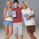 Brie Larson, Logan Lerman and Cody Linley