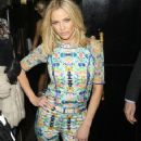 Sarah Harding: leaving the 'Ten - The Hits Tour' after party at Whisky Mist in London - 358 x 594