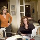 "DIANE LANE (left) and ELIZABETH PERKINS in Warner Bros. Pictures' romantic comedy ""Must Love Dogs,"" also starring John Cusack."