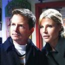 Julie Bowen and Michael J. Fox