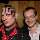 Boy George and Michael Riedel