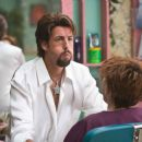 In Columbia Pictures' You Don't Mess with the Zohan, Adam Sandler (pictured) stars as Zohan, an Israeli commando who fakes his own death in order to pursue his dream of becoming a hairstylist in New York. Photo By:  Tracy Bennett. © 2008 Columbia