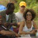Producer John Singleton, Executive Producer Dwight Williams, Producer Stephanie Allain; Photo By: Alan Spearman. - 454 x 301
