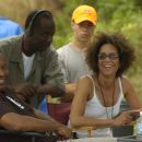 Producer John Singleton, Executive Producer Dwight Williams, Producer Stephanie Allain; Photo By: Alan Spearman.