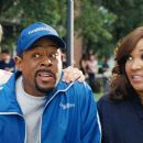 (L-R) DONNY OSMOND, MARTIN LAWRENCE, KYM WHITLEY in COLLEGE ROAD TRIP © Disney Enterprises, Inc. All rights reserved.