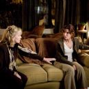 KATE NELLIGAN, left, as Joanne and SANDRA BULLOCK as Linda in TriStar Pictures' psychological thriller PREMONITION. Photo Credit: Ron Batzdorff