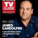 James Gandolfini - TV Guide Magazine Cover [United States] (2 July 2013)