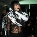 Rihanna Jean Paul Gaultier Fashion Show In Paris