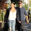 Lea Michele and Zandy Reich – Out in Santa Monica