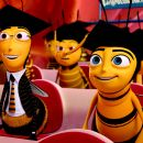 (Right to left) Classmates of the Graduating Class of 9:15 Barry B. Benson (JERRY SEINFELD) and Adam Flayman (MATTHEW BRODERICK) tour Honex: A Division of Honesco: A Part of the Hexagon Group, in DreamWorks' BEE MOVIE, to be released by Paramount Pi