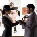 Beyoncé Knowles as Deena Jones and Jamie Foxx as Curtis Taylor Jr. in drama musical 'Dreamgirls' 2006