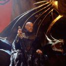 King Galbatorix (John Malkovich) awaits word of the Dragon Rider's demise. Photo credit: David Appleby