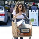 Mila Kunis: shopping at Pavilions in West Hollywood