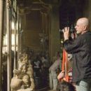 Director ROB COHEN among the Terracotta Warriors on the set.