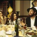 (L to R) Mili Avital as Vanessa, Shiri Appleby as Nikki Stuckman and Max Greenfield as Ethan Stuckman in Salvador Litvak moving pictures When Do We Eat.