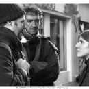 From Left: Glen Hansard, Writer and Director John Carney and Marketa Irglova on the set of ONCE - 454 x 333