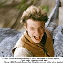 Eragon (Ed Speleers) enjoys the ride of his life atop his dragon Saphira. Photo credit: ILM