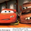 McQueen (voiced by Owen Wilson) and Mater (voiced by Larry The Cable Guy) in Buena Vista Pictures Distribution's Cars - 2006