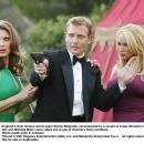 England's most famous secret agent (Darko Belgrade), accompanied by a couple of cuties (Brooklyn Freed, left, and Michelle Misty Lang), takes aim at one of Gnarnia's many evildoers. Photo credit: John P. Johnson - 454 x 359