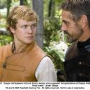 Eragon (Ed Speleers, left) and Brom (Jeremy Irons) represent two generations of Dragon Riders. Photo credit: James Dittiger