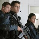 Brian Van Holt, Colin Farrell and Michelle Rodriguez portray elite S.W.A.T. team members on a dangerous assignment.