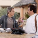 "Eddie (Ben Stiller, left) spars with Tito (Carlos Mencia, right) at a Mexican resort in ""The Heartbreak Kid."" Credit: Zade Rosenthal. TM & Copyright ©2007 by DreamWorks LLC.  All rights reserved."