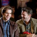 "(L-r) Carl (JIM CARREY) and Nick (JOHN MICHAEL HIGGINS) attend the Yes seminar in Warner Bros. Pictures' and Village Roadshow's comedy ""Yes Man,"" distributed by Warner Bros. Pictures. Photo by Melissa Moseley"