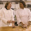 Gerard Depardieu and Queen Latifah play together in Last Holiday - 2006