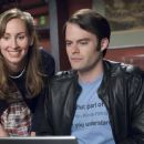 Caroline Timm as Bar patron and Bill Hader as Brian in Universal Pictures' Forgetting Sarah Marshall.