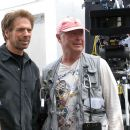 Jerry Bruckheimer and Tony Scott in DEJA VU - 454 x 302